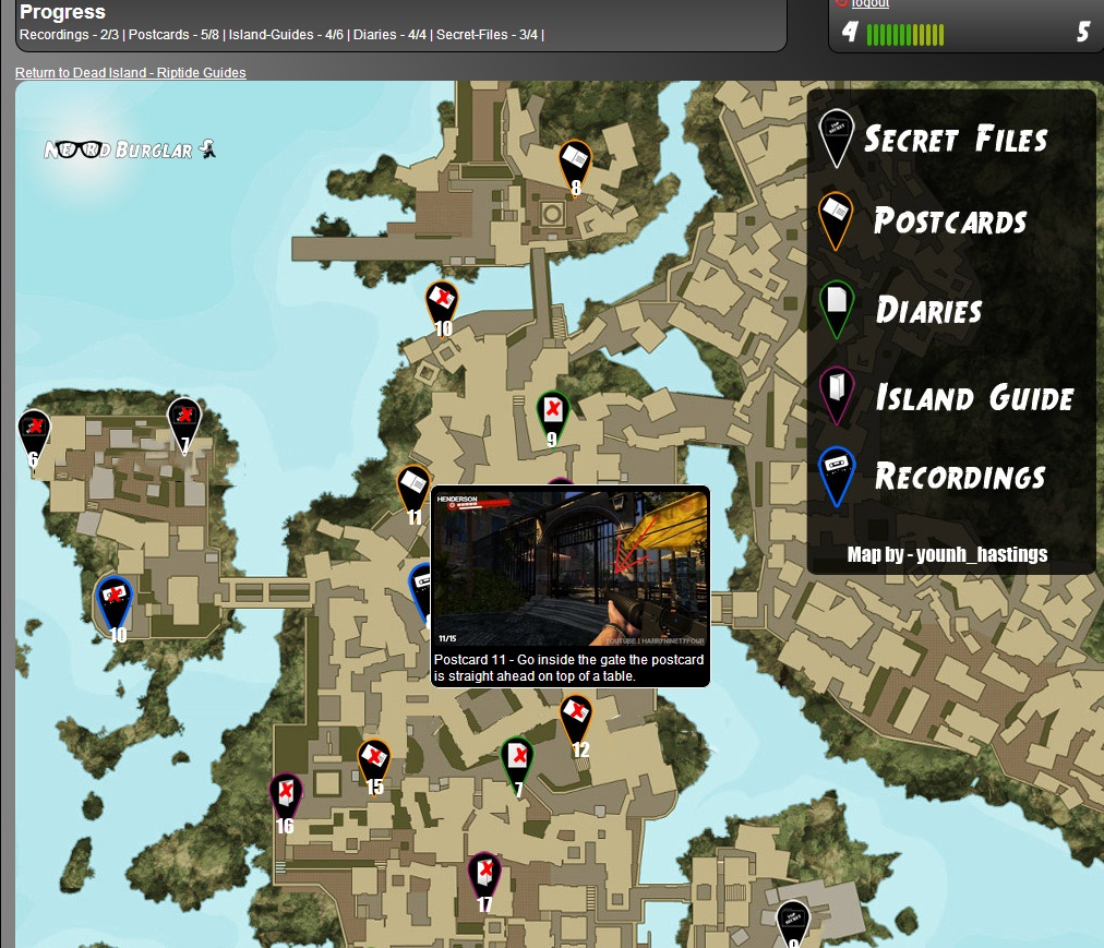 Interactive Collectible Map - Jungle and Henderson ... on