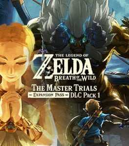 The Legend of Zelda: Breath of the Wild - The Master Trials Box Art
