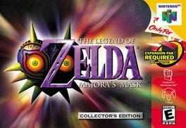 The Legend of Zelda: Majoras Mask Box Art