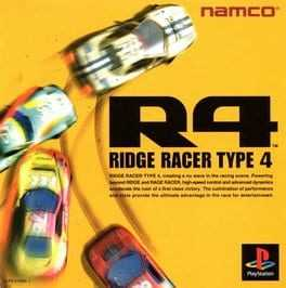 Ridge Racer Type 4 Box Art