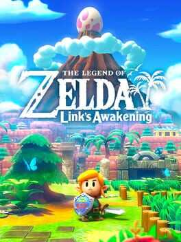 The Legend of Zelda: Links Awakening Box Art