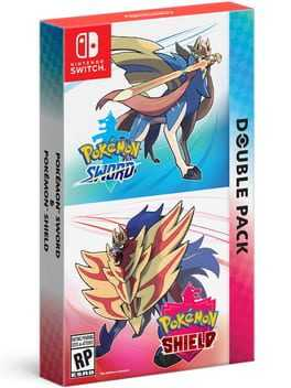 Pokémon Sword & Pokémon Shield Double Pack Box Art