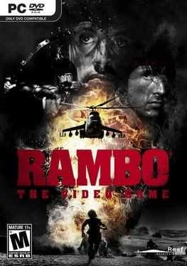 Rambo: The Video Game Box Art