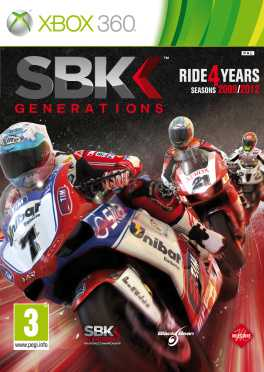 SBK Generations Box Art