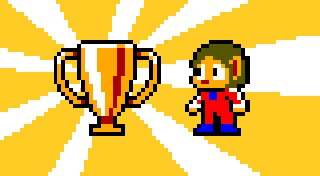Alex Kidd in Miracle World Trophy List Banner
