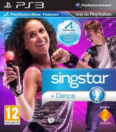SingStar Dance Box Art