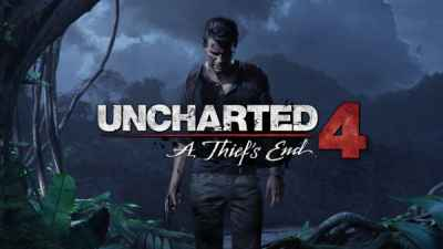 Uncharted 4: A Thiefs End Box Art