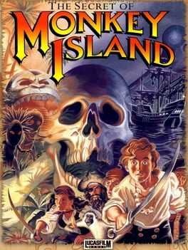 The Secret of Monkey Island Box Art