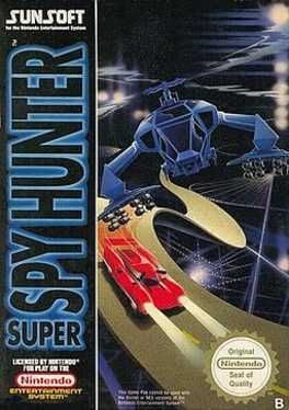 Super Spy Hunter Box Art