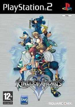 Kingdom Hearts II Box Art