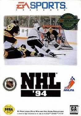 NHL 94 Box Art