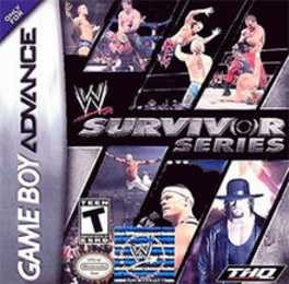 WWE Survivor Series Box Art