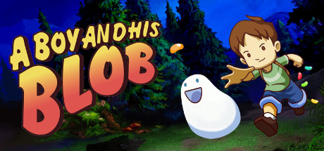A Boy and His Blob Banner