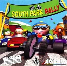 South Park Rally Box Art
