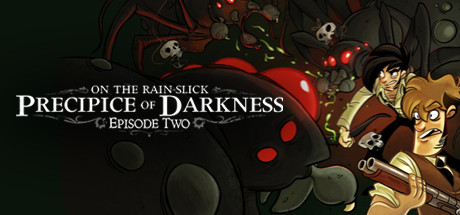 On the Rain-Slick Precipice of Darkness, Episode Two Banner