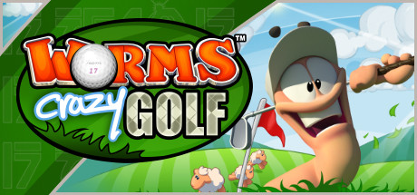Worms Crazy Golf Banner