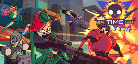 Super Time Force Ultra Banner