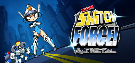 Mighty Switch Force! Hyper Drive Edition Banner