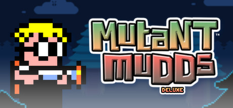 Mutant Mudds Deluxe Banner