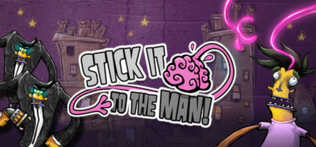 Stick it to the Man! Banner