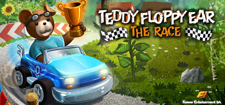 Teddy Floppy Ear - The Race Banner