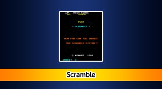 Arcade Archives: Scramble Trophy List Banner