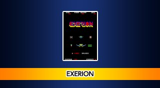 Arcade Archives: Exerion Trophy List Banner