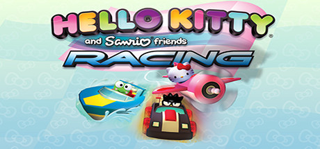 Hello Kitty and Sanrio Friends Racing Banner