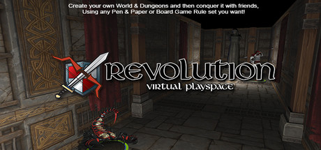 Revolution: Virtual Playspace Banner