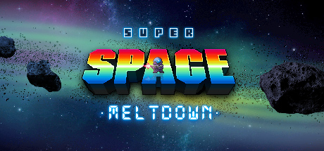 Super Space Meltdown Banner