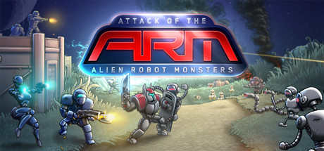 Alien Robot Monsters Banner