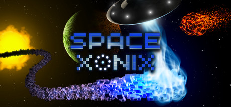 Space Xonix Banner