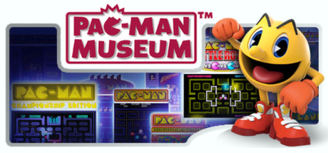 PAC-MAN Museum Banner