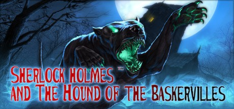 Sherlock Holmes and The Hound of The Baskervilles Banner