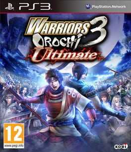 Warriors Orochi 3 Ultimate Box Art