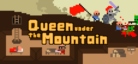 Queen Under The Mountain Banner