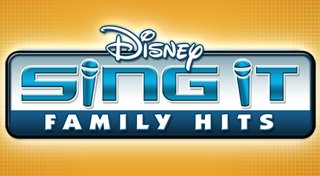 Disney Sing It: Family Hits Trophy List Banner