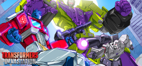TRANSFORMERS: Devastation Banner