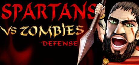 Spartans VS Zombies Defense Banner