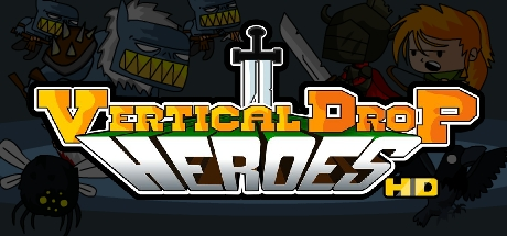 Vertical Drop Heroes HD Banner