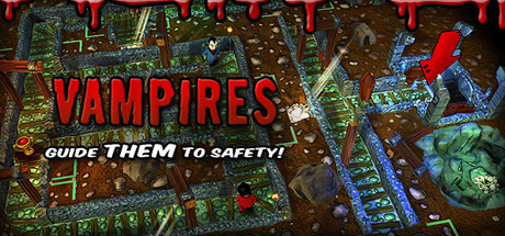 Vampires: Guide Them to Safety! Banner