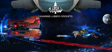Cannons Lasers Rockets Banner