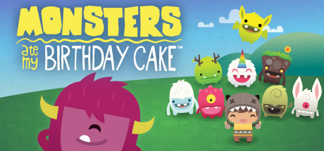 Monsters Ate My Birthday Cake Banner