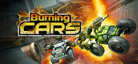 Burning Cars Banner