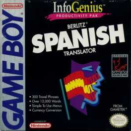 Berlitz Spanish Translator Box Art