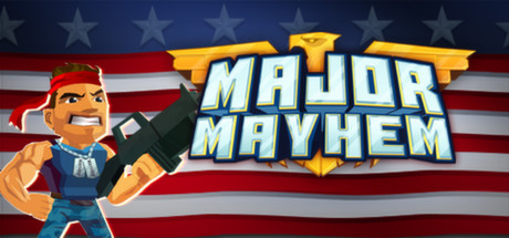 Major Mayhem Banner
