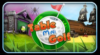 Table Mini Golf Trophy List Banner