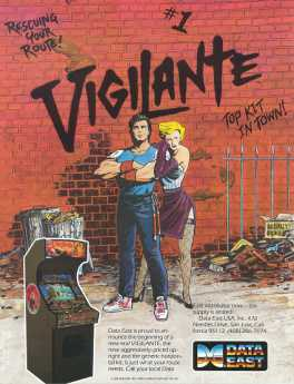 Vigilante Box Art