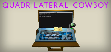 Quadrilateral Cowboy Banner
