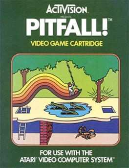 Pitfall! Box Art
